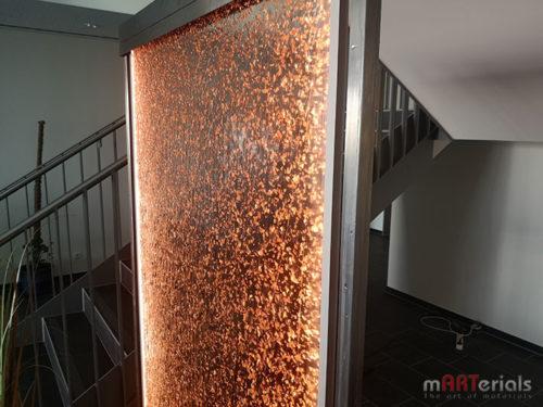 "Wasserwand aus acrylic couture ""Aqualon Fiocchi"""