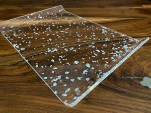 "Acrylglas Tablett ""acrylic couture fiocchi"""